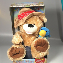 Zip a Dee Doo Dah singing bear parrot Chantilly lane zippity do da toy  - $250.00