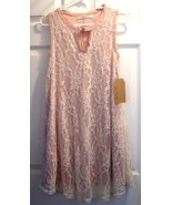 Lace Shift Dress with Ivory Lace Size Small NWT Andree by Unit  - $24.99