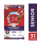 Purina ONE Senior Dry Dog Food; SmartBlend Vibrant Maturity Adult 7+ For... - $37.64
