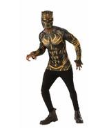 Rubies Marvel Black Panther Erik Killmonger Mask Adult Halloween Costume... - $24.99