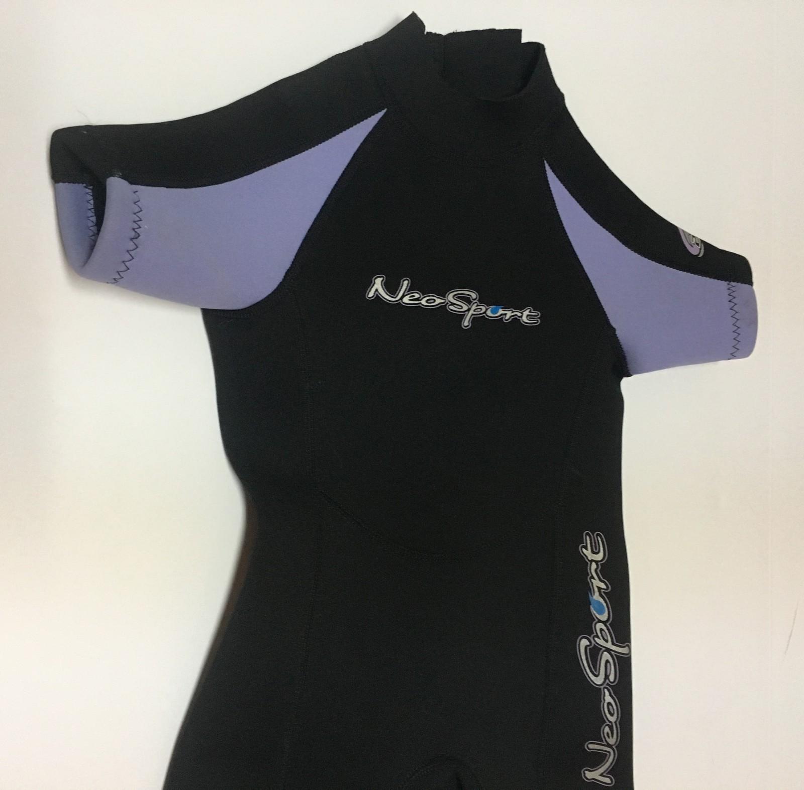 Neosport Children's Wetsuit Black Sz 2