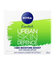 NIVEA® ESSENTIALS URBAN SKIN DEFENCE – DAY CREAM +48 MOUSTURE BOOST - $20.55