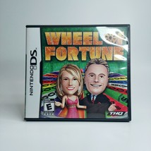 Wheel of Fortune Nintendo DS 2010 Tested Authentic LOOK Free Same Day Sh... - $12.17
