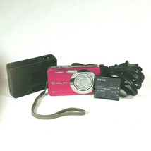 Casio Digital Camera EXILIM EX-Z80A 8.1 Megapixels 3X Optical Zoom Pink ... - $34.60