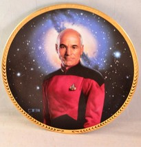 STAR TREK Next Generation 5th Anniversary Hamilton Collection Plate - Pi... - $19.99