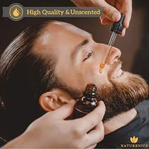 Naturenics Premium Beard Oil & Balm Wax Unscented Kit- Made with 100% Pure, Orga image 3