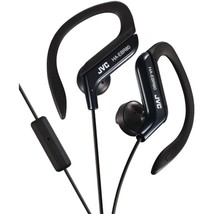 JVC HAEBR80B In-Ear Sports Headphones with Microphone & Remote (Black) - $30.36