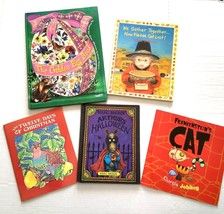 Holiday Book Lot Of 5 Halloween Thanksgiving Christmas Easter Kids Arthur - $10.89