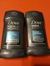 Dove Men+Care Antiperspirant Deodorant Stick Clean Comfort 2.7 oz (Pack of 2) - $9.85