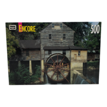 RoseArt Encore JigSaw Puzzle Old Mill at Pigeon Forge Tennessee 500 Pieces - $12.34