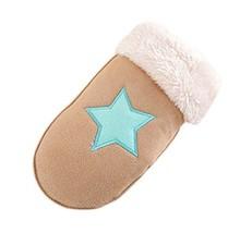 Children Gloves Fashionable Gloves Warm Winter Mittens Plush Gloves Cute Gloves image 2