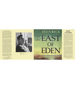 John Steinbeck EAST OF EDEN facsimile dust jacket for first & early edit... - $21.56
