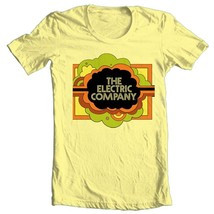 The Electric Company T-shirt vintage 70s TV show 100% cotton graphic yellow tee image 2