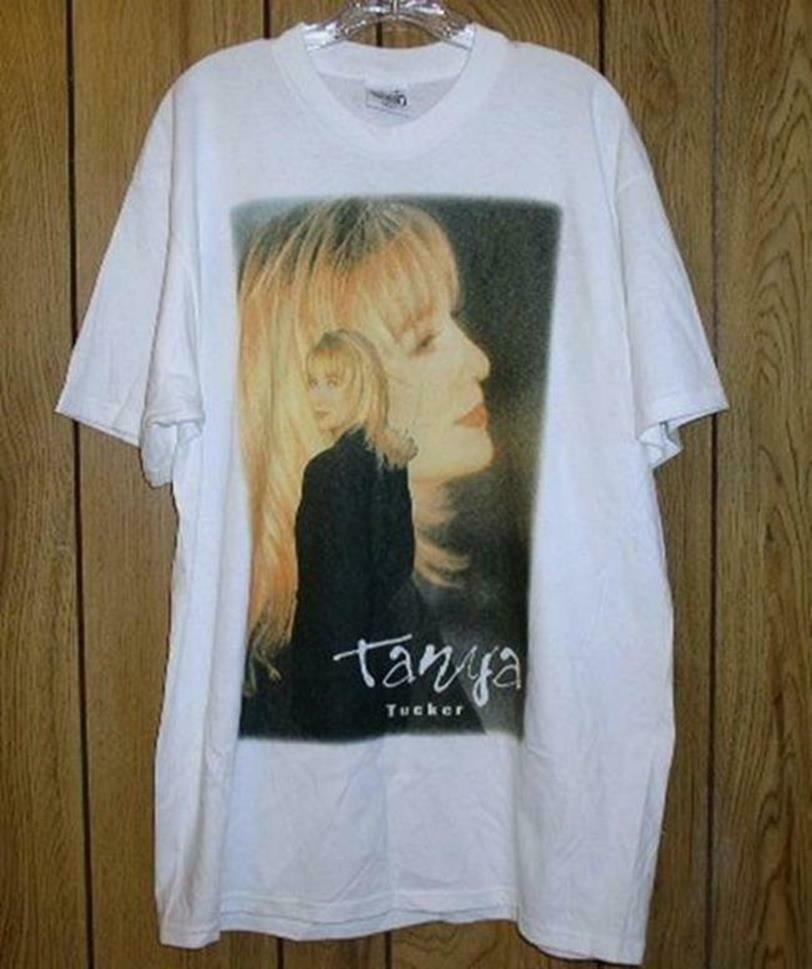 Primary image for Tanya Tucker Concert Tour T Shirt Vintage 1995 Fire To Fire