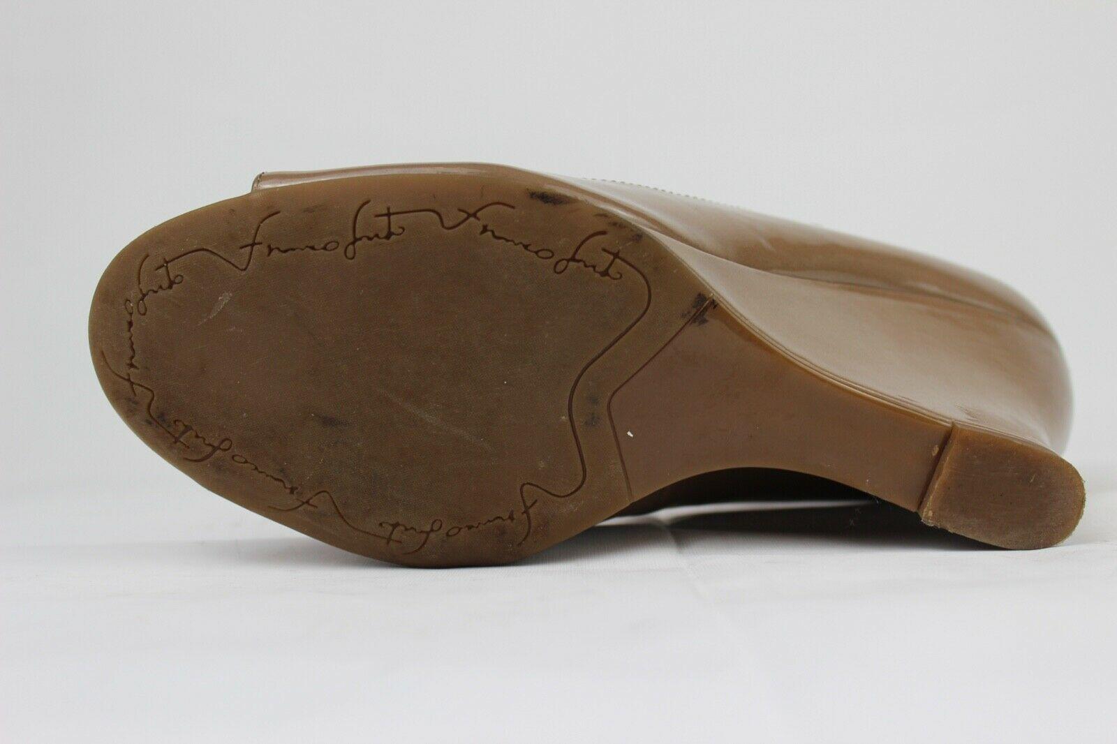 Franco Sarto Sadie Damen Mary Jane Schuhe Vorne Offen Taupe Größe 9M image 9
