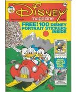 Disney Magazine #68 UK London Editions 1986 Color Comic Stories VERY FINE - $9.74