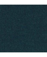 4 yds Herman Miller Loft Heathered Navy Blue Wool Upholstery Fabric 22L0... - $136.80