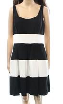 Lauren Ralph Lauren Womens  Size 16P Pleated Black/White Dress 2937-3 - $37.02