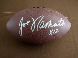 JOE NAMATH X 12 1969 NY JETS SBC HOF SIGNED AUTO WILSON NFL FOOTBALL GRI... - $296.99