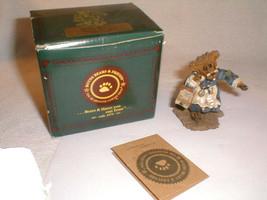 bear boyds bears figurine bruin  teacher  1998  9E714 - $24.00