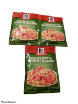 McCormick Garlic Butter Shrimp Scampi Mix - 0.87oz ea - BB 2022 - Lot Of 3 Packs - $19.90