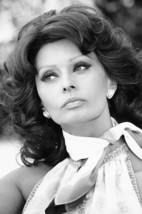 Sophia Loren Early 1970's Glamour B&W Poster 18x24 Poster - $23.99