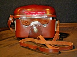 Zeiss Ikon Contaflex Super Camera with hard leather Case AA-192011 Vintage image 7