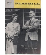 "Biltmore Theatre Playbill ""TAKE HER, SHE""S MINE"" April 16, 1962 - $3.00"