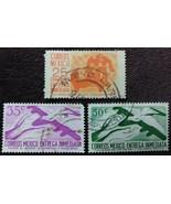 3 Mexico Mexico Stamps Entrega Inmediata - $0.99