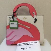 Kate Spade By The Pool Flamingo Sam Satchel Crossbody 25th Anniversary P... - $344.62 CAD