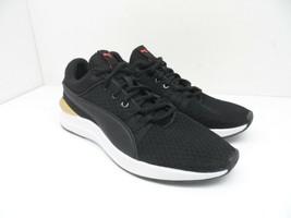 PUMA Women's Adela Core Athletic Casual Shoes Black/Gold Size 7M - $47.49