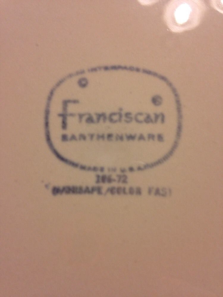1 Franciscan Earthenware Sundance Yellow Spiral Dinner Plates USA
