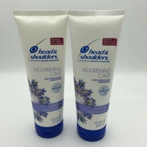 2 Head & Shoulders 10.6 Oz Nourishing Care Lavender Hair & Scalp Conditioner - $14.75