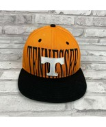 Tennessee Snapback Hat  Embroidered Black White Orange New Era 9 Fifty - $15.68