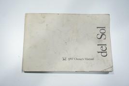 1997 Honda Del Sol Owners Manual OEM - $33.99