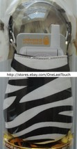 KANGAROO BY HYPERGEAR Case for UNIVERSAL Off White+Black Stripes PHONE P... - $5.93