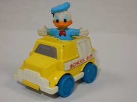 Arco Disney Collectable Die Cast Donald Duck School Bus - $6.79