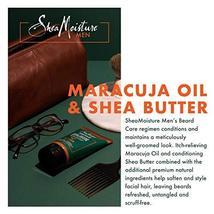 SheaMoisture Maracuja & shea butter full beard detangler, 4 Fluid Ounce image 5