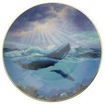 A Casey Monarch of the Deep Save the Whales Collector Plate CPO_ - $33.36