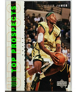 HOT! RARE PROMO! LEBRON JAMES ROOKIE! 2003 UPPER DECK #P1 CAVALIERS LAKERS - $449.95