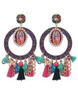 Tassel Earrings For Woman Angle Round Pendients Long Dangle Earrings Boh... - $9.37+