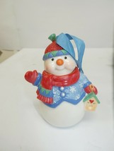 2006 Hallmark Sweet Tooth Treats 5th Snowman Christmas Ornament (snowman only) - $7.49