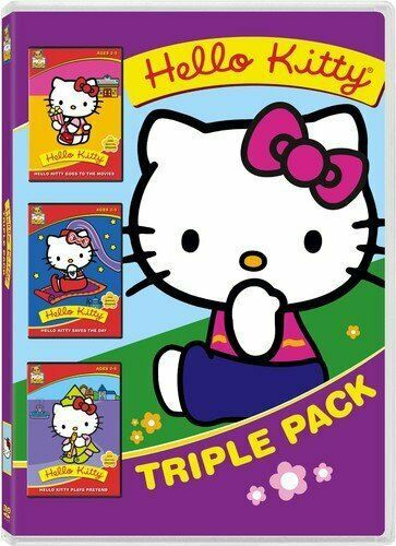 Primary image for Hello Kitty Triple Pack (Goes to the Movies, Saves the Day, Plays Pretend)