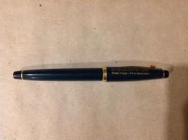 Wells Fargo Green Gold Plated Pen Ball Point Pen Cross 1996 - $19.79