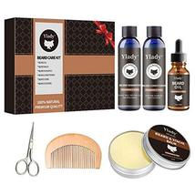 Beard Grooming Kit 100% Natural Beard Care Set for Mustache Growth Includes Unsc image 2
