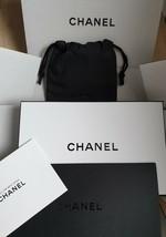 CHANEL Signature Keepsake Gift Box Sealed Tissue Bag Pouch Receipt Envelope Card - $30.96
