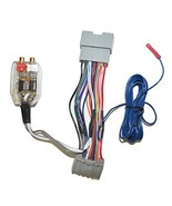 Factory Radio Add A Amp Amplifier Sub Interface Wire Harness Inline Conv... - $29.45