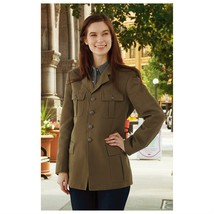 New Unissued Italian army wool dress blazer jacket military coat Women's... - $25.00