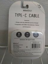 Vivitar Type-C Cable 3 Ft Length SEALED N EW - light green color. image 9