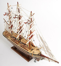 """Cutty Sark Tall Clipper Ship Wooden Model Boat Fully Assembled 34"""" L New... - $419.95"""